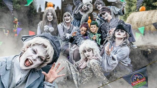 <p>Halloween half term fun at Alton Towers</p>