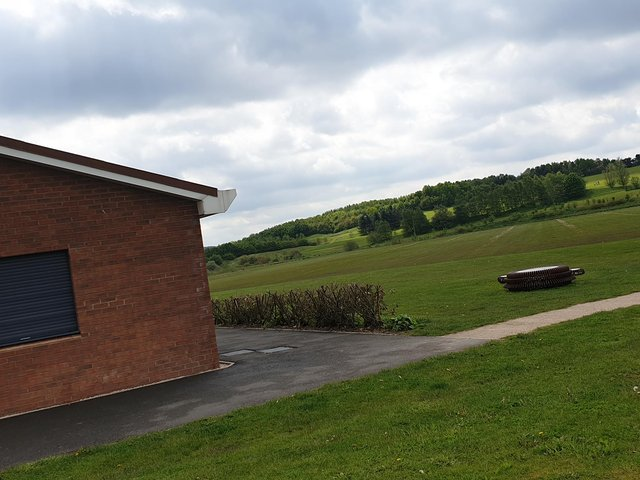 The land off Kenbrook Road where Hucknall Sports play