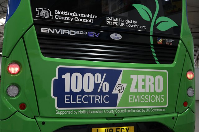 Almost £1million has been invested in new electric buses now operating in the county.