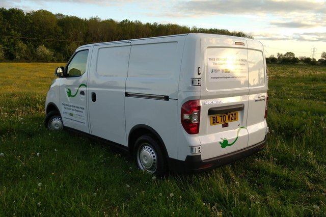 AW Lymn is trialing Nottingham City Council's electric van experience