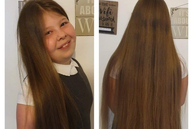Mia Edwards is cutting her hair for charity