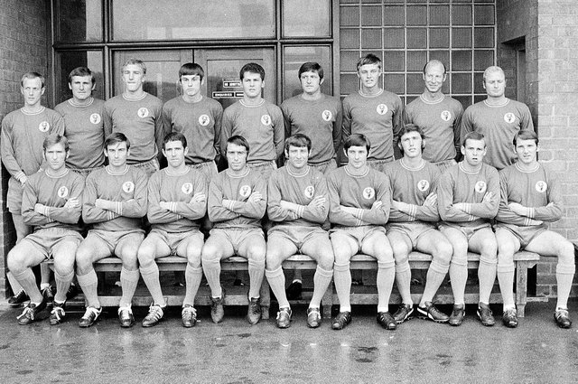 The 1969 Stags team.