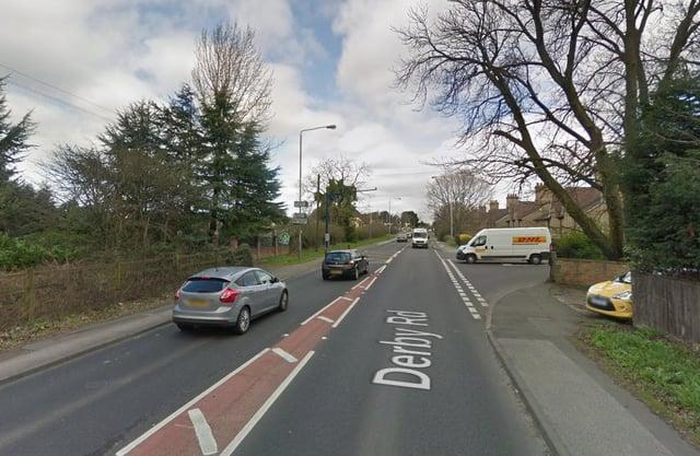 Derby Road, Kirkby.