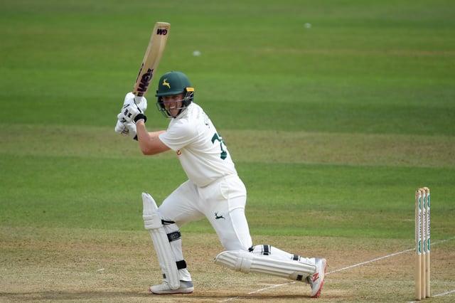 Ben Slater of Nottinghamshire