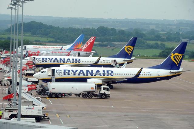 Ryanair and British Airways have cancelled flights.