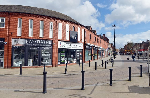Shops in Hucknall town centre have re-opened following the latest lockdown easing measure