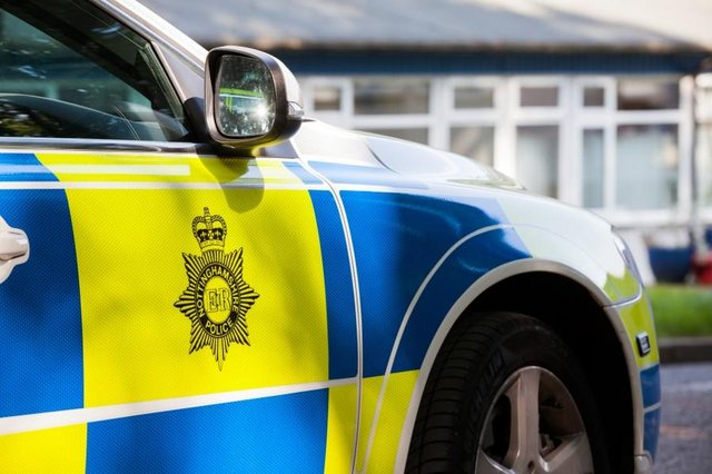 The police closed several roads in Hucknall