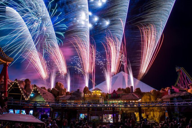 Fireworks will be part of the summer fun at Fantasy Island
