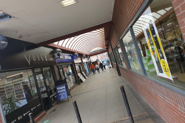 The council has said it will concentrate on cleaning up Central Walk in the town