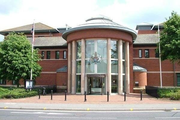 Blackwood appeared at Nottingham Magistrates Court this week