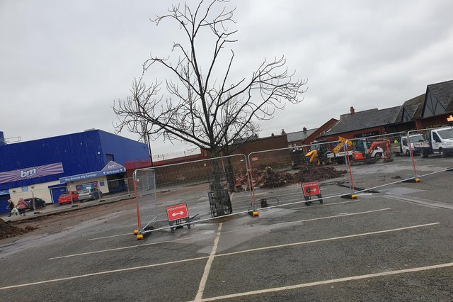 The new centre is to be built on part of the Piggins Croft car park