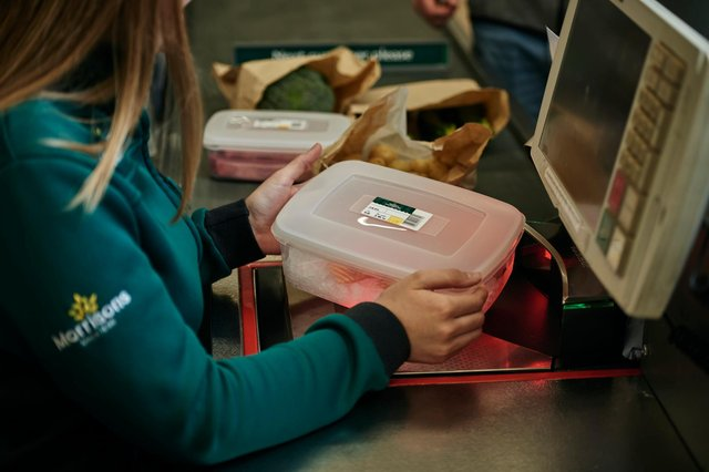 Morrisons in Bulwell is bringing back its refillable container service at its fresh fish and meat counters