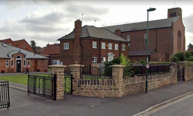 The sisters of the Poor Clare Colettinnes are raising money to repair their convent in Bulwell. Photo: Google Earth