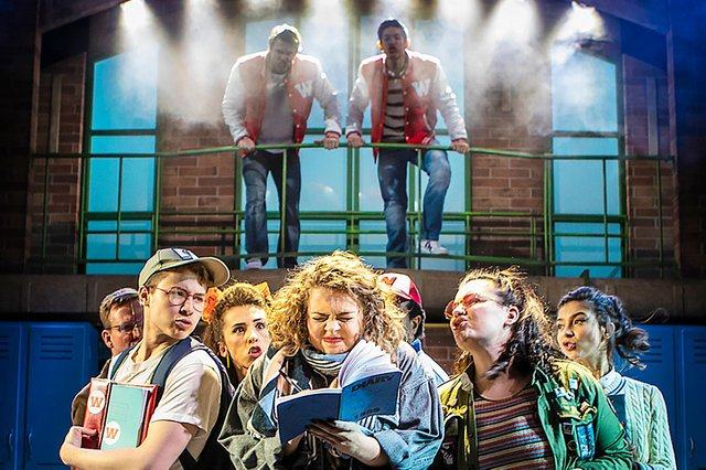 Heathers The Musical is coming to Nottingham (Photo credit: Pamela Raith)