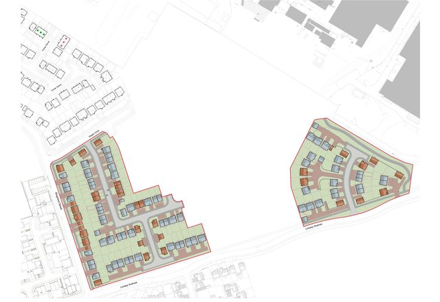 The next phase of development on former Rolls-Royce land in Hucknall will see 100 homes spread across two sites.
