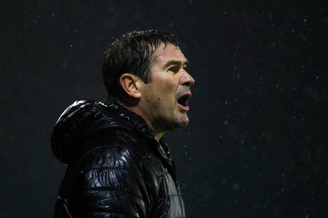 Mansfield manager Nigel Clough