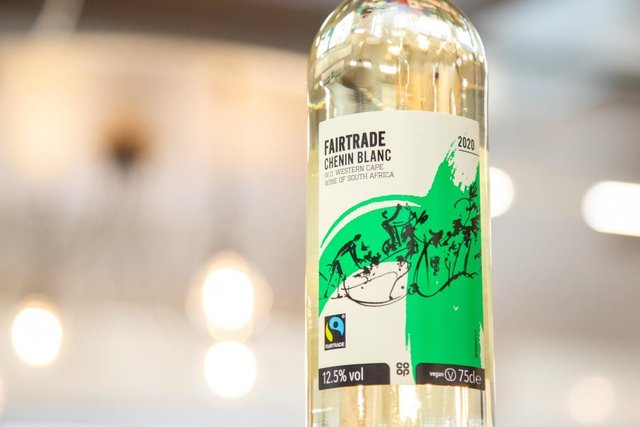 One of the Fairtrade wines being showcased at the free event organised by Central England Co-op.
