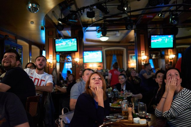 Football fans are looking forward to heading back to the pub for the Euros. Photo: Oleg Nikishin/Getty Images