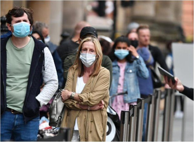 53 million masks are being binned in the UK every day.
