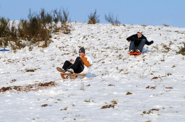 You can't say you're from Hucknall unless you've been sledging down Misk Hills