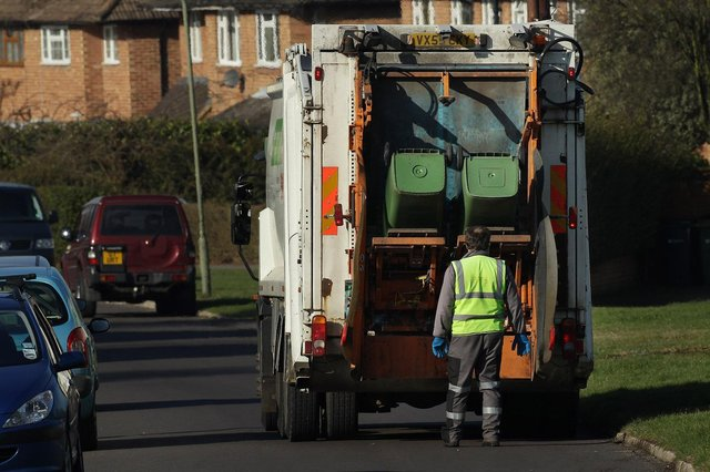 Ashfield residents produced more than 350kg of waste each last year. Photo: Peter Macdiarmid/Getty Images
