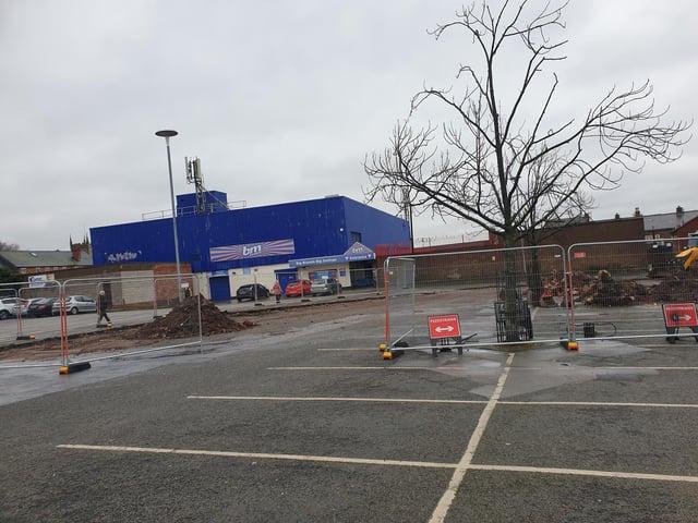 The centre is planned to be built on Piggins Croft car park