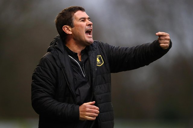 Mansfield Town manager Nigel Clough (Photo by Michael Steele/Getty Images)