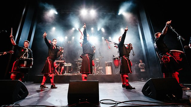 The Red Hot Chilli Pipers (Photo credit: Benno Hunziker)