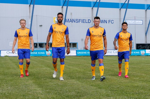 The new Stags home kit