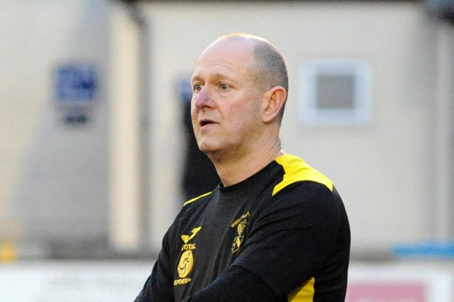 Hucknall Town manager, Andy Graves.