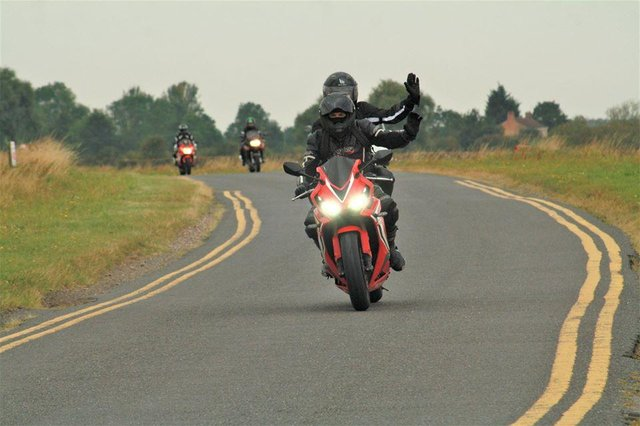 Bikers can support the air ambulance by taking part in Ride The Route over the next month
