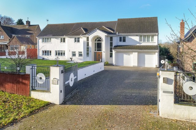 The property is on Old Road in Ruddington and is on the market for £1.5 million. Photo: Screen Photography