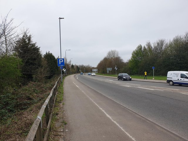 A speed camera is being installed on the Hucknall bypass
