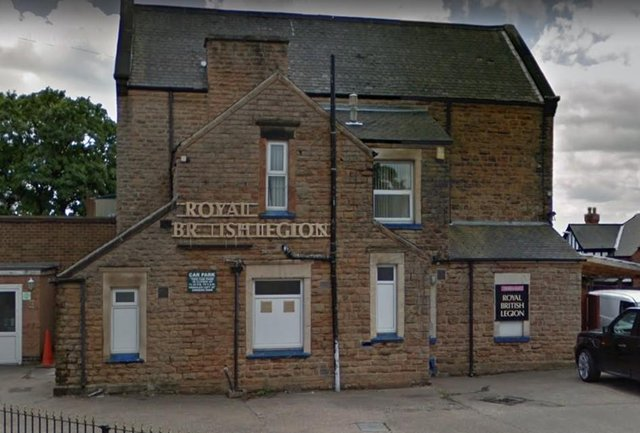 Members of the Hucknall branch of the Royal British Legion will mark the Legion's 100th anniversary this weekend. Photo: Google Earth
