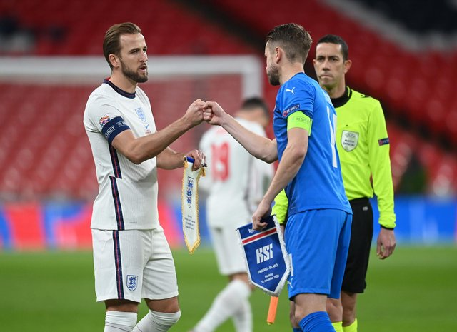 Harry Kane is a man England can build their team around. (Photo by Michael Regan/Getty Images)