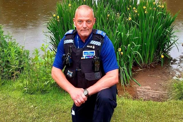 Hucknall PCSO Steve Timperley. Photo: Ashfield Police