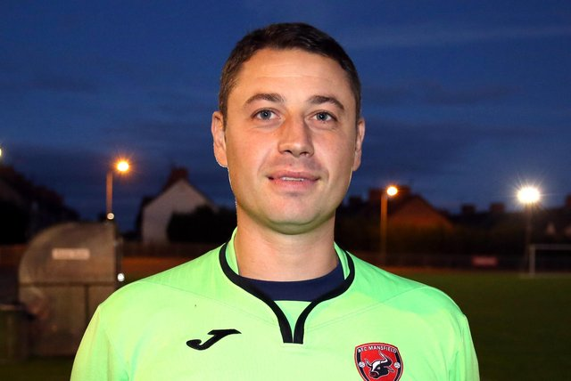 Jason White - back at AFC Mansfield.