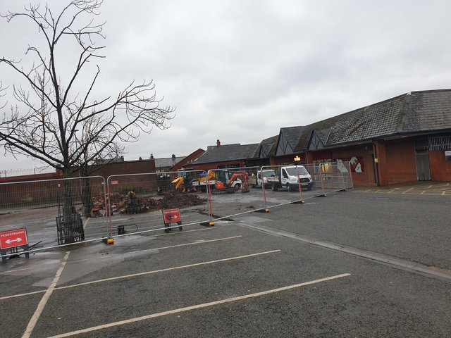 The medical centre is being proposed to be built on part of Piggins Croft car park