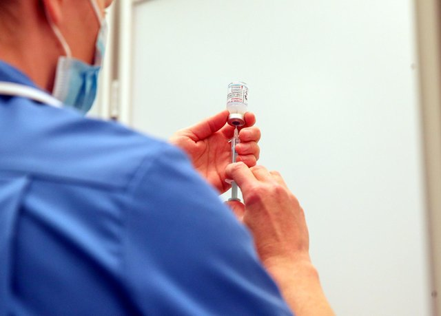 A fifth of care home staff in Nottinghamshire have still not been vaccinated against Covid-19.  (Photo by Steve Parsons - WPA Pool/Getty Images)