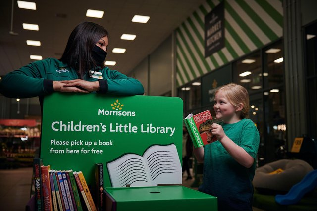 Morrisons has launched a book donation and exchange station for children in its stores across the UK, including Bulwell. Photo: Mikael Buck