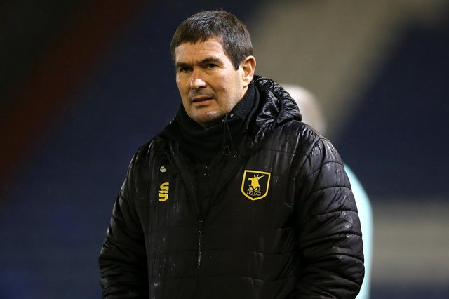 Stags manager Nigel Clough