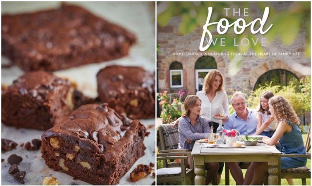 Natalie Gerrelli's cook book, The Food We Love, is available to buy now