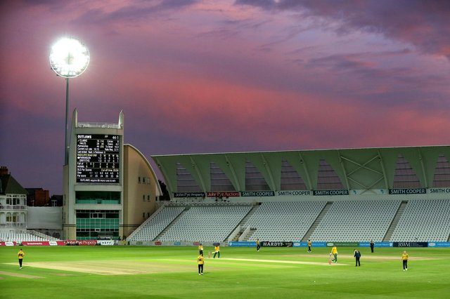 The Notts Outlaws will play in front of a reduced crowd. (Photo by Alex Pantling/Getty Images)