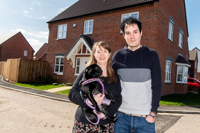 Lindsey and Michael Clarke sold one house and moved into their Linby home in just two days