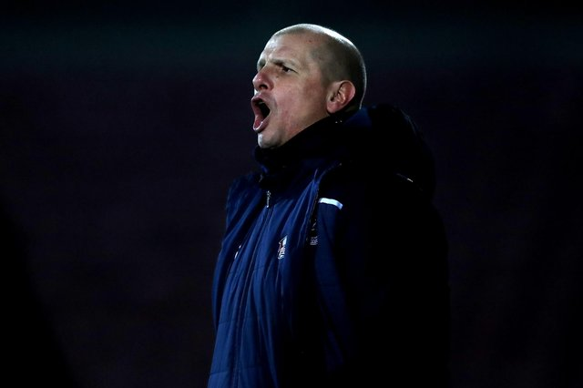Scunthorpe United boss Neil Cox.