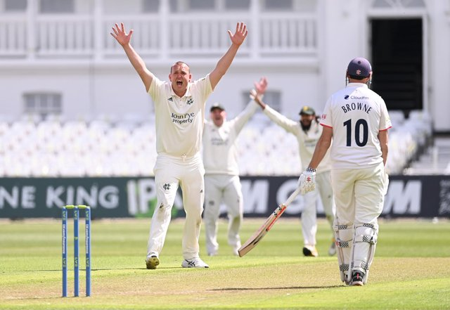 Luke Fletcher has enjoyed a brilliant start to the season. (Photo by Laurence Griffiths/Getty Images)