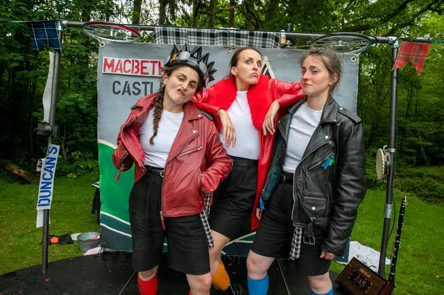 The Handlebards are to perform Macbeth at Southwell soon (Photo credit: Shaun Jackson)