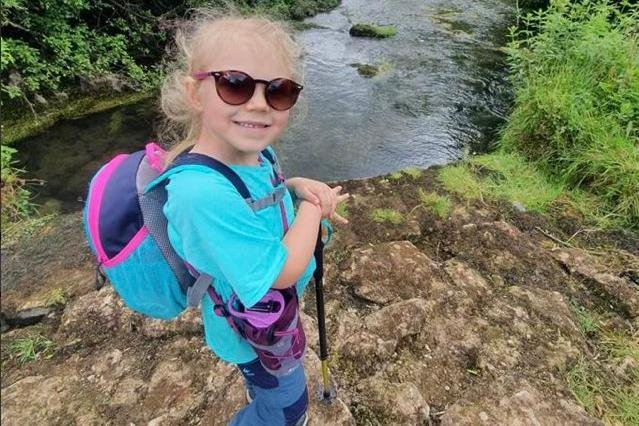 Roxy-Lea Munn is walking 166 miles this year