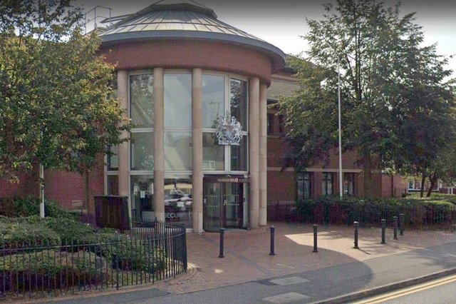 Smith was disqualified for 15 months at Mansfield Magistrates' Court. Photo: Google Earth