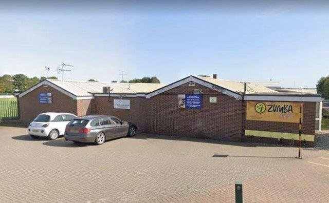 Vaccinations are being done at the Rolls Royce Leisure Centre.